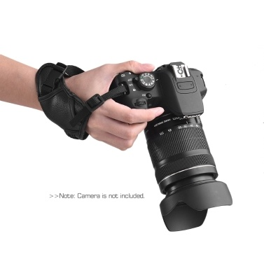 Leather Camera Padded Wrist Grip Strap Camera Accessory for Canon/ Nikon/ Sony/ Olympus Pentax/ Fujifilm/ DSLR