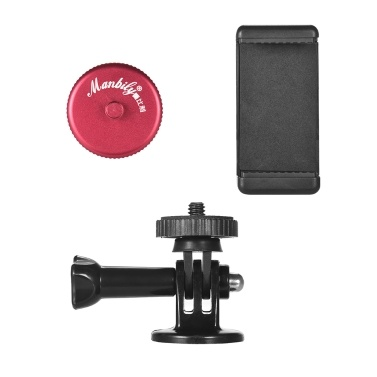 Manbily Beverage Bottle Cap Smartphone Camera Stand Holder for Photographing Video Watching 1/4inch Screw for Action Camera iPhoneX/8/8P Samsung HTC Blackberry