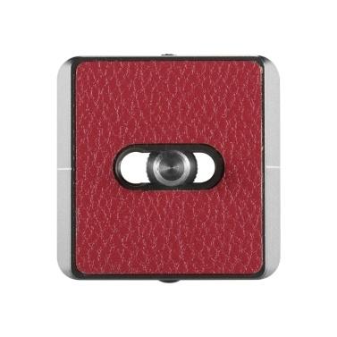カメラストラップループ付き38 mm超薄型ユニバーサルクイックリリースプレートArca Swiss標準三脚クイックリリースプレートクランプボールヘッド用の取り外し可能なカメラネジレンチ