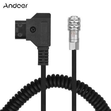 Andoer D-Tap auf BMPCC 4K 2 Pin Locking Power Cable