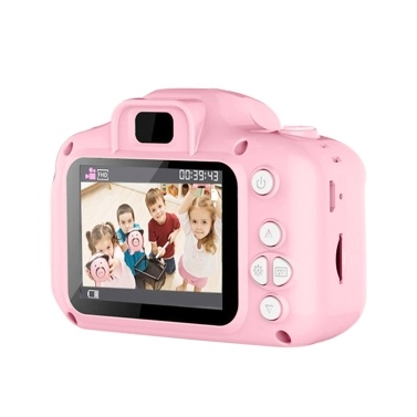 800W Kinderkamera Mini Digital Cartoon Niedliches USB wiederaufladbares Camcorder Video