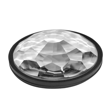 77mm Kaleidoscope Prism Camera Glass Filter Variable Number of Subjects SLR Photography Accessories