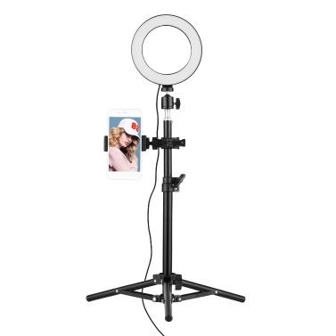 16cm 3000K-6500K Bi-color Ring Video Light