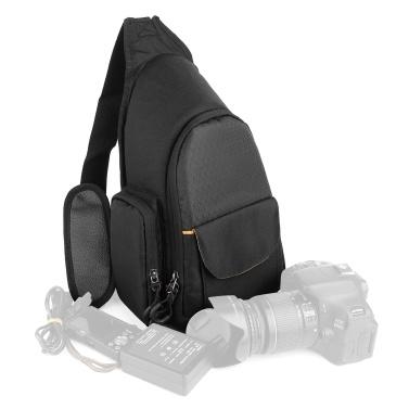 Camera Sling Bag SLR/DSLR Gadget Chest Bag Padding Shoulder Carrying Bag