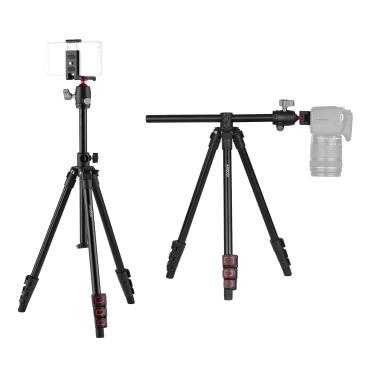Andoer Q160H Portable Camera Tripod Horizontal Mount Professional Travel Tripod
