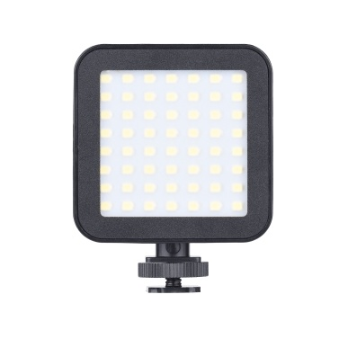Mini Video LED Photography Light 5.5W On-camera Fill Light with Cold Shoe Mounts for Camera Camcorders Live Stream Video Shooting Video Conference