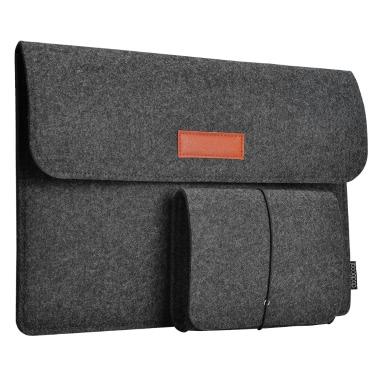 Dodocool 13,3-Zoll-Filz-Hülle Cover Carrying Case Schutztasche