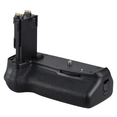 Andoer BG-1T Vertikale Batterie Grip Halter für Canon EOS 70D / 80D DSLR Kamera Kompatibel mit 2 * LP-E6 Batterie