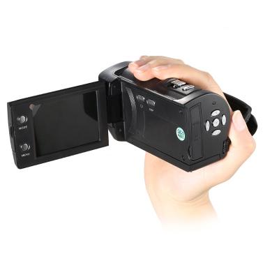 Andoer Mini Portable LCD Screen HD 16MP 16X Digital Zoom 720P 30FPS Anti-shake Digital Video Recorder DV   Camera Camcorder DVR