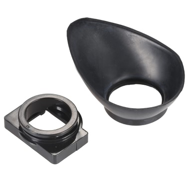 Gummi 22mm DSLR Kamera Foto Augenmuschel Auge Cup Okular Sonnenblende für Nikon D7100 D7000 D5200 D5100 D5000 D3200 D3100 D3000 D90 D80