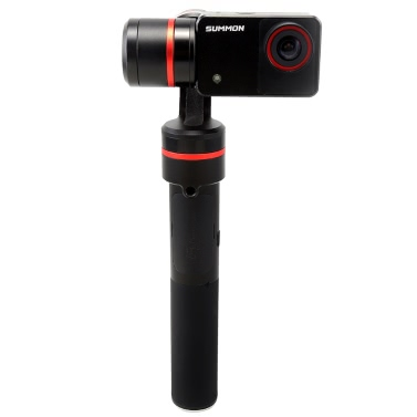 Feiyu Beschwörung 3-Achsen Brushless Stabilisierte Hand Gimbal Integrierte 4K 1080P 60FPS Panorama-Action-Kamera All-in-One-16-Megapixel-2,0-Zoll-HD-Display mit LED-Fill Light One Tap für 360 ° Panorama-Shooting