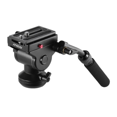 SODIAL Tripod Head Panoramic Bird Watching Photography Head with Quick Release Plate for Sirui L10 RRS Mh-02