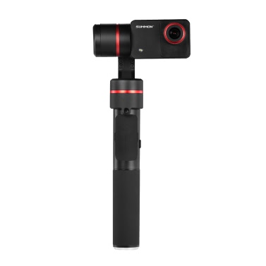 "Feiyu SUMMON + Stabilisierte Hand Action-Kamera integriert mit 3-Achsen-Brushless Gimbal 4K 25FPS 16 Megapixel 2.0 ""HD Display mit LED-Fill Light Anti-rütteln Ein Tap für Panoramaaufnahme"