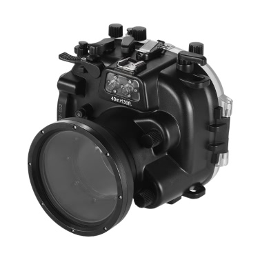 MEIKON Waterproof Camera Diving Housing Protective Case Cover Underwater 40m/ 130ft for Fujifilm Fuji X-T1