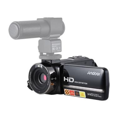Andoer HDV-3051STR Portable 24Mega Pixel Digitale Videokamera