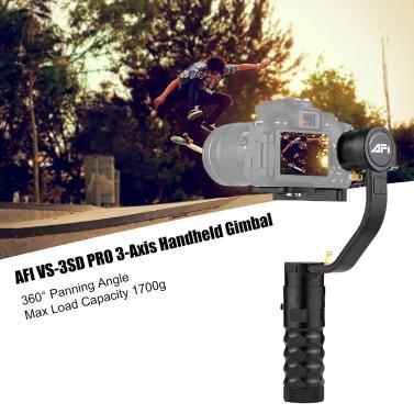 AFI VS-3SD PRO 3-Axis Handheld Gimbal