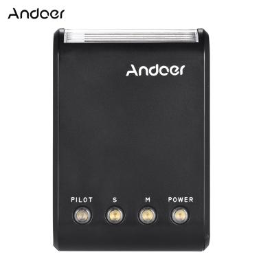 Andoer WS-25 Professional Portable Mini Digital Slave Flash Speedlite