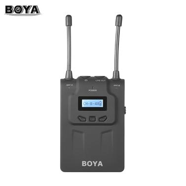BOYA BY-WM8R UHF Dual-Anrenna Microphone,free shipping $114.38(code:BOYA10)