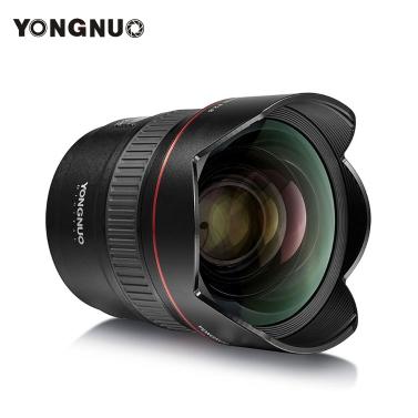 YONGNUO YN14mm F2.8 Ultra-Weitwinkel Prime Lens Auto / Manueller Fokus 114 ° Diagonalwinkel