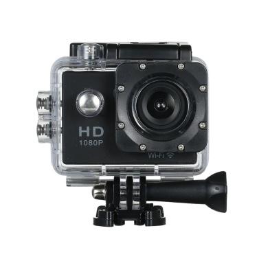 56% de réduction sur les caméras vidéo 1080P Wifi Sport Action pour appareils photo imperméables seulement 15,60 € sur tomtop.com + livraison gratuite