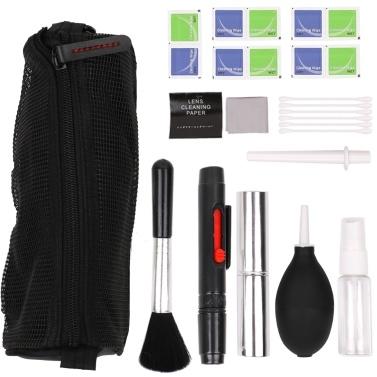 Grundlagen Reinigungszubehör Reinigungsset für DSLR-Kameras und empfindliche elektronische Linsen / Sensor / LCD-Bildschirm reinigen