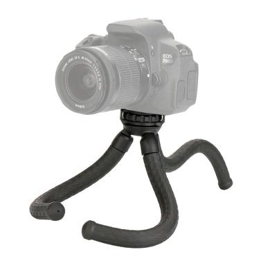Flexible Octopus Shaped Tripod Tabletop Tripod 1/4 Inch Screw Mount Canon Nikon Sony GoPro Hero Camera