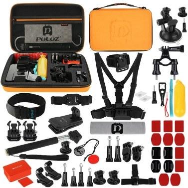 PULUZ 53-in-1 Accessories Kit