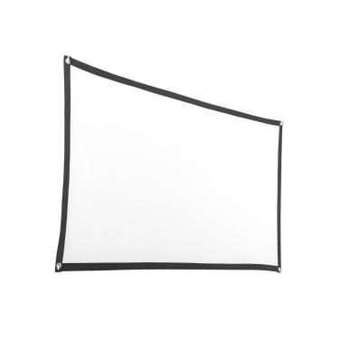 16: 9 Projektionswand 72 Zoll Tragbare hochauflösende Projektionsfläche für Heimkino
