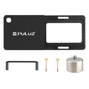 PULUZ Gimbal Mounting Frame Handheld Stabilizer Plate Clip Replacement for GoPro HERO9 / HERO8 Cameras