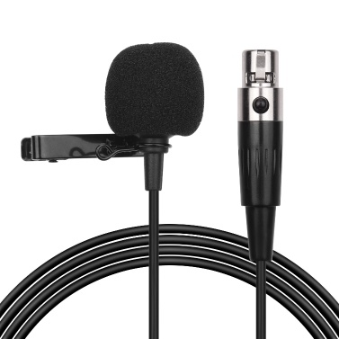 ACEMIC XM1 Lavalier Microphone Clip-on Condenser Omnidirectional Mic
