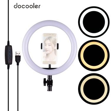 docooler 26cm / 10inch LED Ringlicht Fotografie Einfülllampe