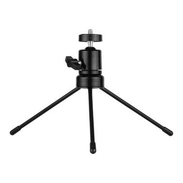 Tischkugelkopf-Stativsatz 360 Grad drehbarer U-förmiger Schlitz mit universeller 1/4 Schraube