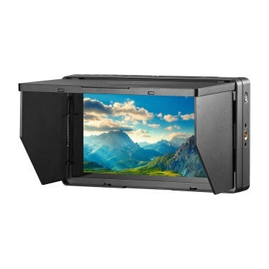 Godox GM55 5.5 Inch IPS Touchscreen On-Camera Monitor 4K HDMI Output 160° Wide Viewing Angle 3D LUT for DSLR ILDC Cameras