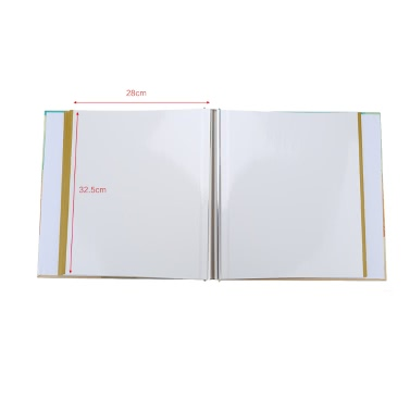 """DIY 30 Sheets 60 Pages Hardboard Craft Handmade Sticker Sticky Photo Album Scrapbook Frame for Instax Camera 5"""" 6"""" 7"""" Wedding Baby Lover Party Gift"""