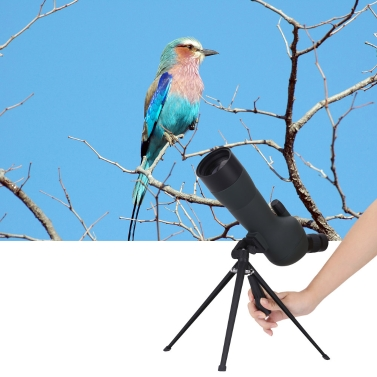 55% OFF Outdoor 20-60X Zoom Spotting Scope with Tripod,limited offer $33.23