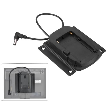 Battery Adapter Base Plate for Lilliput Monitors for FEELWORLD Monitors Compatible for Sony NP-F970 F550 F770 F970 F960 F750 Battery