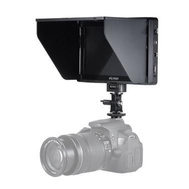 "VILTROX DC-70HD 7 ""1920 * 1200 HD TFT-LCD-Monitor HD-Eingang Ausgang AV-Eingang für Canon Nikon Sony DSLR-Kamera Camcorder Video Studio Fotografie"