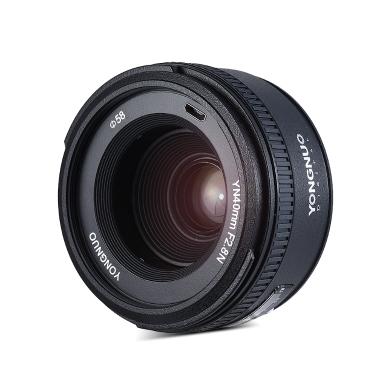 YONGNUO YN40mm F2.8N 1: 2.8 Standard Festes Hauptobjektiv AF MF Selbst-manueller Fokus Leichtgewichtler für Nikon D500 D7100 D7000 D7500 D610 D800 D810 DSLR Kamera