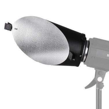 Bowens Mount Diffusor Reflektor mit weichem Büroklammer für Studio Flash