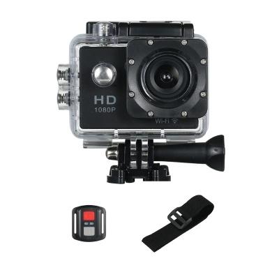 """720P Wifi Sport Action Kamera 12M 2.0 """"Bildschirm 170 Grad Weitwinkel-Videokameras"""