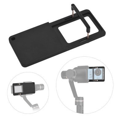 Action Camera Switch Mount Plate Adapter Aluminum Alloy GoPro Hero 6/5/4/3+ YI 4K SJCAM Similarly Sized Sport Cameras DJI OSMO Mobile Zhiyun Smooth 4 Handheld Gimbal Stabilizer