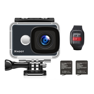 SHOOT XTGP436 4K WiFi-Action-Kamera