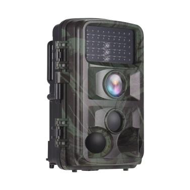 Digital Trail Camera 12MP 1080P Night Vision Impermeabile Caccia Scouting Cam