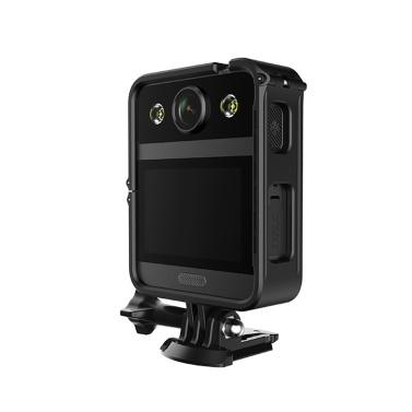 SJCAM A20 1080P / 30fps 12MP tragbare Infrarot-Sicherheitskamera am Körper getragen Multifunktionale wasserdichte Bewegungserkennungskamera Laufwerksrekorder Beweismittelsammler mit LED-Licht für Polizeibeamte