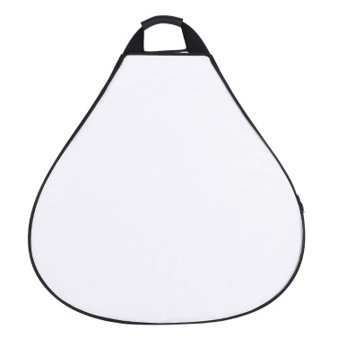 "Andoer 30""/76cm Portable Handheld Triangle Collapsible 5in1 Multi Reflector with Gold/Sliver/White/Black/Translucent Colors for Photo Studio Photography"