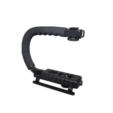 DV Hand Held C-Shaped Shooting Video Stabilizer Hand-held Stabilizing Grip Low Frame Flash Stands Stabilizer