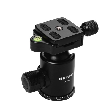 TRIOPO D-2A Professional Ball Head Aluminum Alloy Panoramic Head