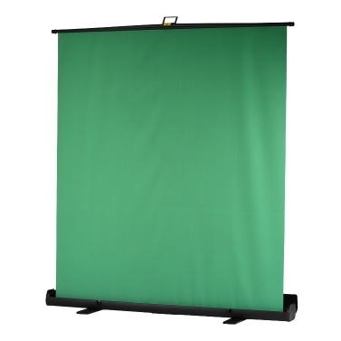 Andoer tragbare 200 cm Höhe zusammenklappbare Chromakey Hintergrund Pull-up-Stil Faltenresistente Green Screen Hintergrund