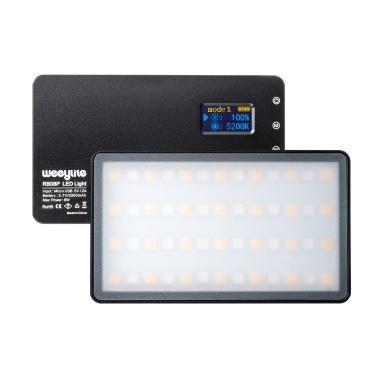 Weeylite RB08P Tragbares Vollfarben-RGB-LED-Videolicht