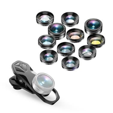 APEXEL APL-DG11 Универсальный профессиональный HD телефонный объектив